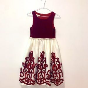 Dress for kids, size 10, red